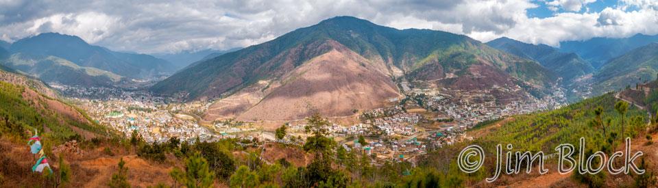 BHU-11608--Timphu-Valley-from-Kuenselphodrang-Nature-Park---Pan-(5)