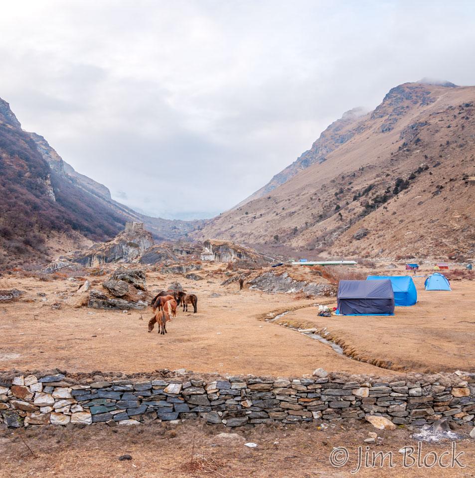 BHU-9223--Tents-and-fog-at-Jangothang----Pan-(2)
